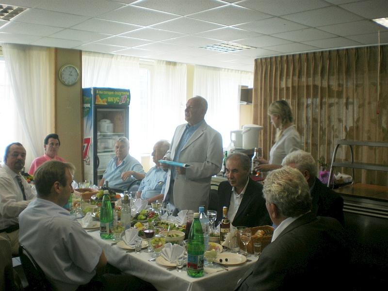 Выступление председателя Общества Чувилина А.М.